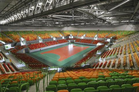 The 2016 Rio Olympics Handball Arena
